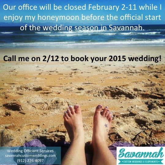 2015 Savannah Weddings