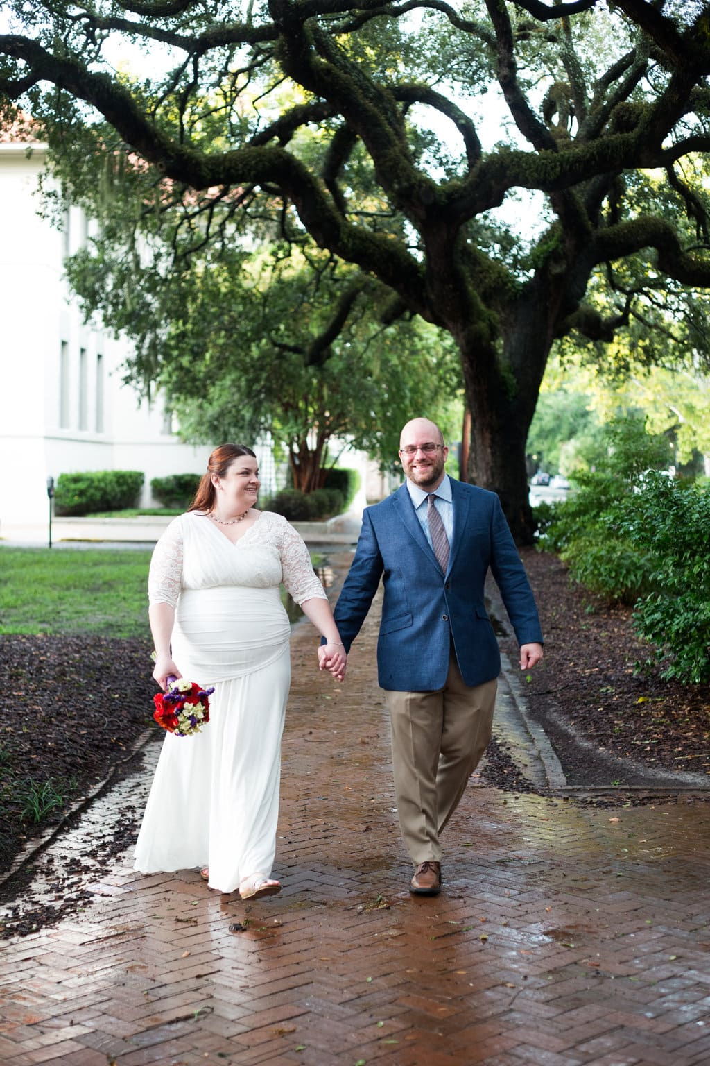 Savannah Wedding in Chatham Square