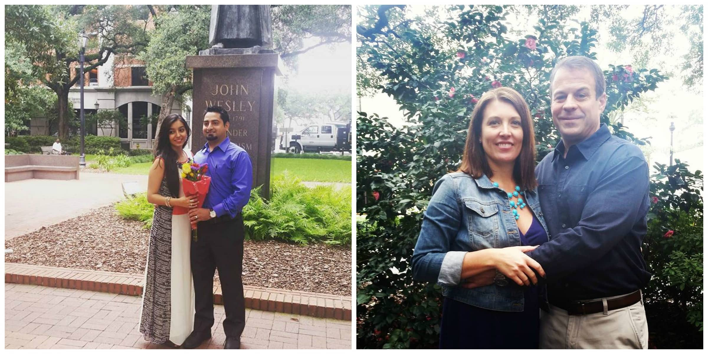 Elopements in Reynolds Square in Savannah, GA