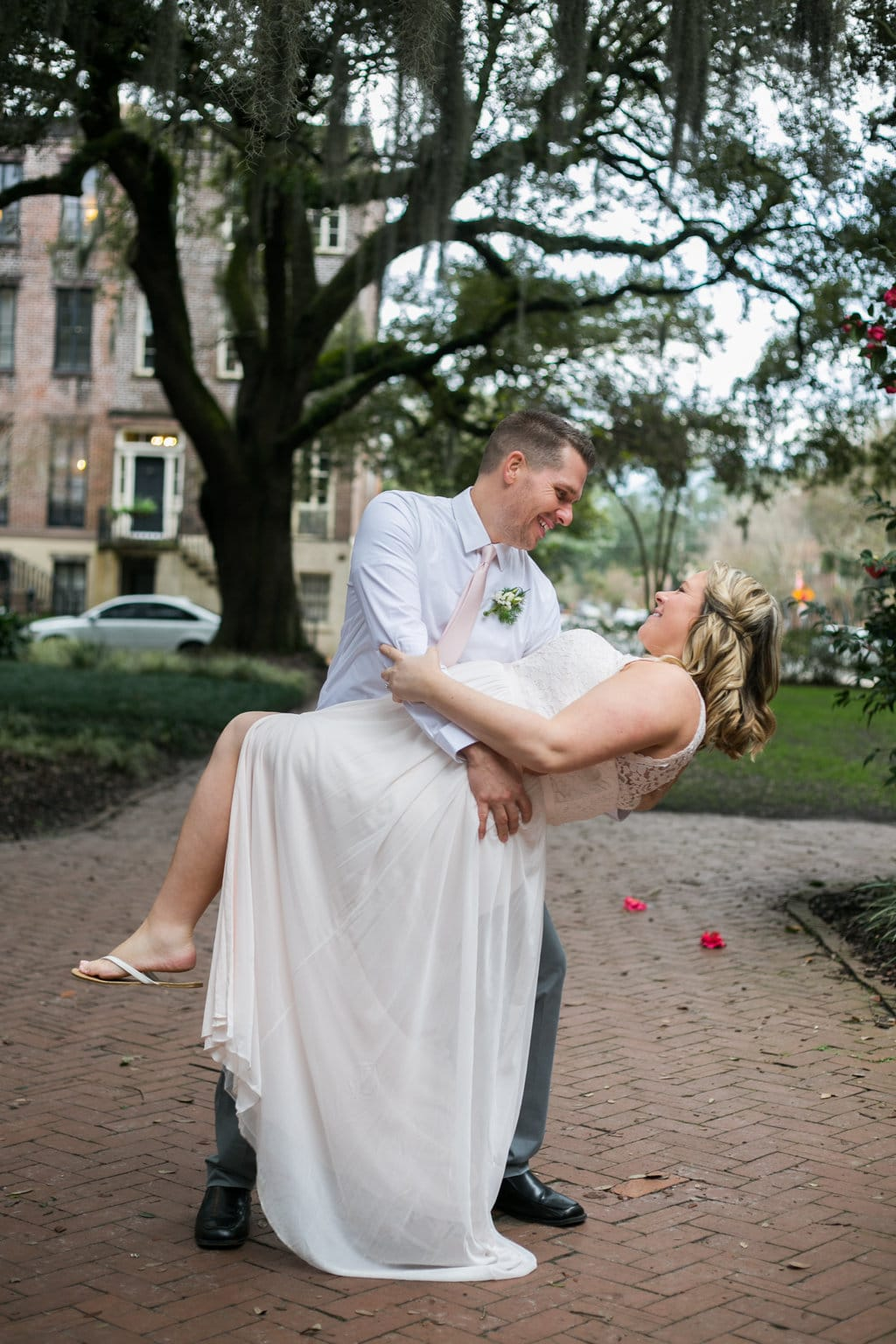 Savannah Wedding Photography in Chatham Square