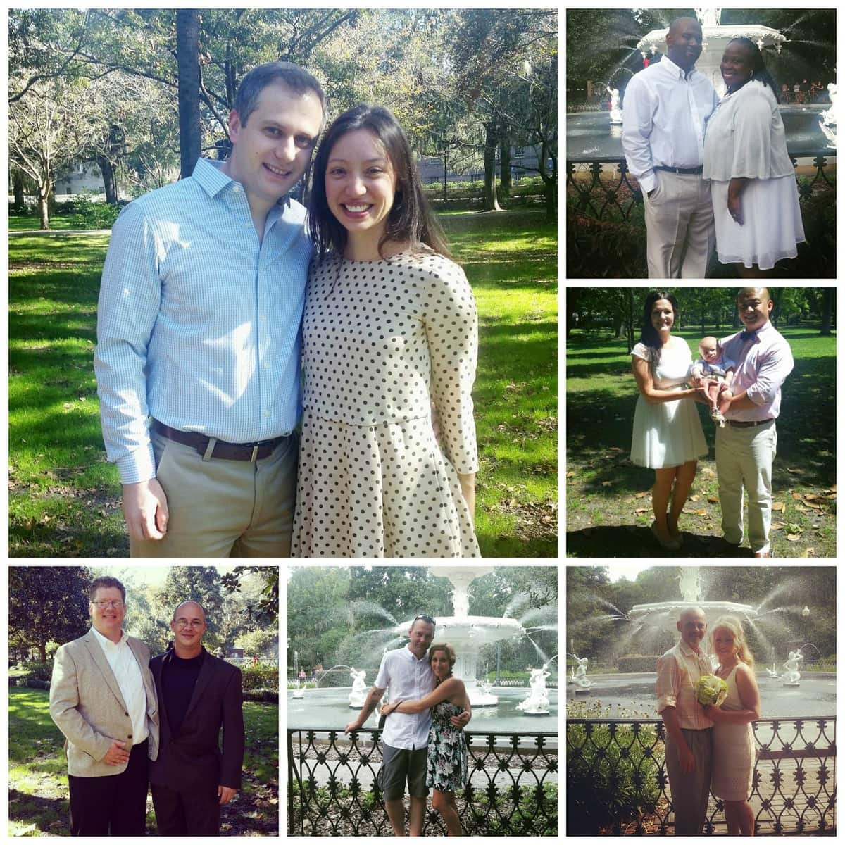 Elopements in Forsyth Park