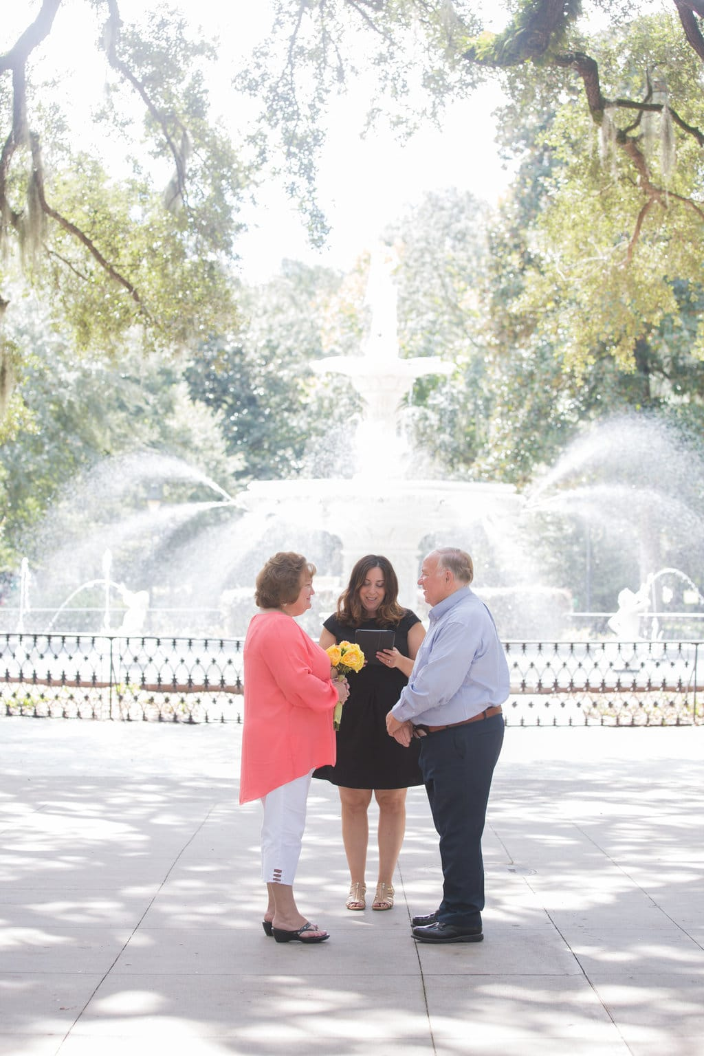 Forsyth Park Fountain Wedding