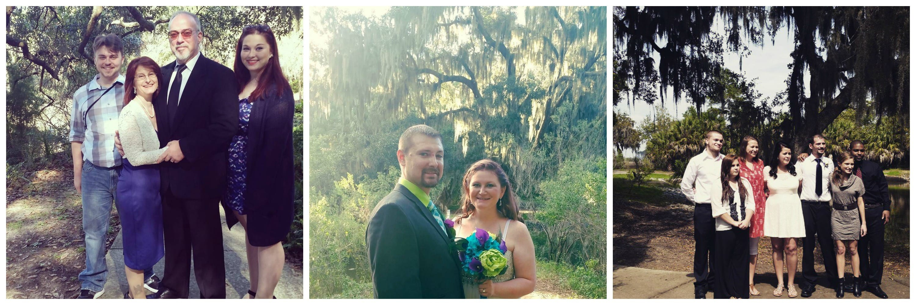 Wedding ceremonies at Greenwich Park, Savannah