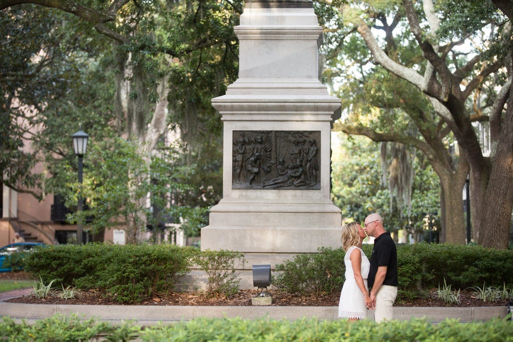 Wedding picture in Madison Square, GA