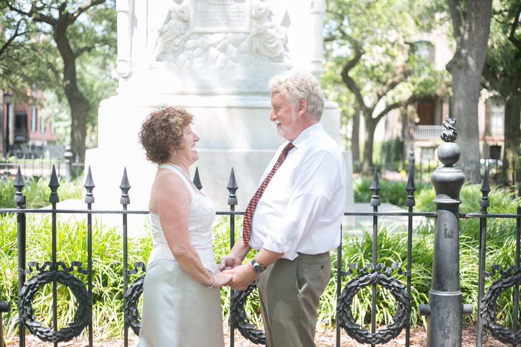Wedding Pictures in Monterey Square