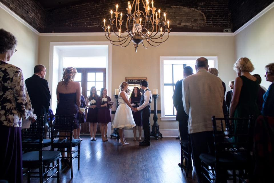 Wedding at Vics on the River in Savannah