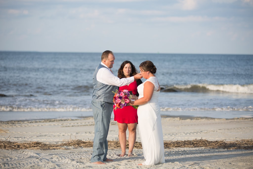 Tybee Island wedding