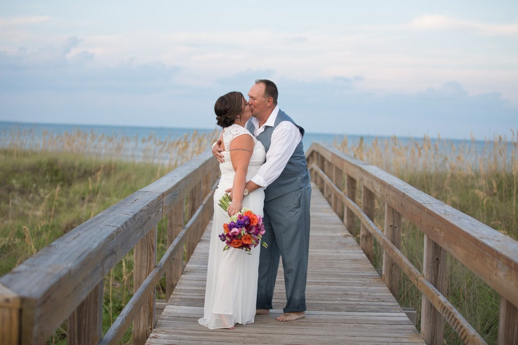 wedding photography in ocean