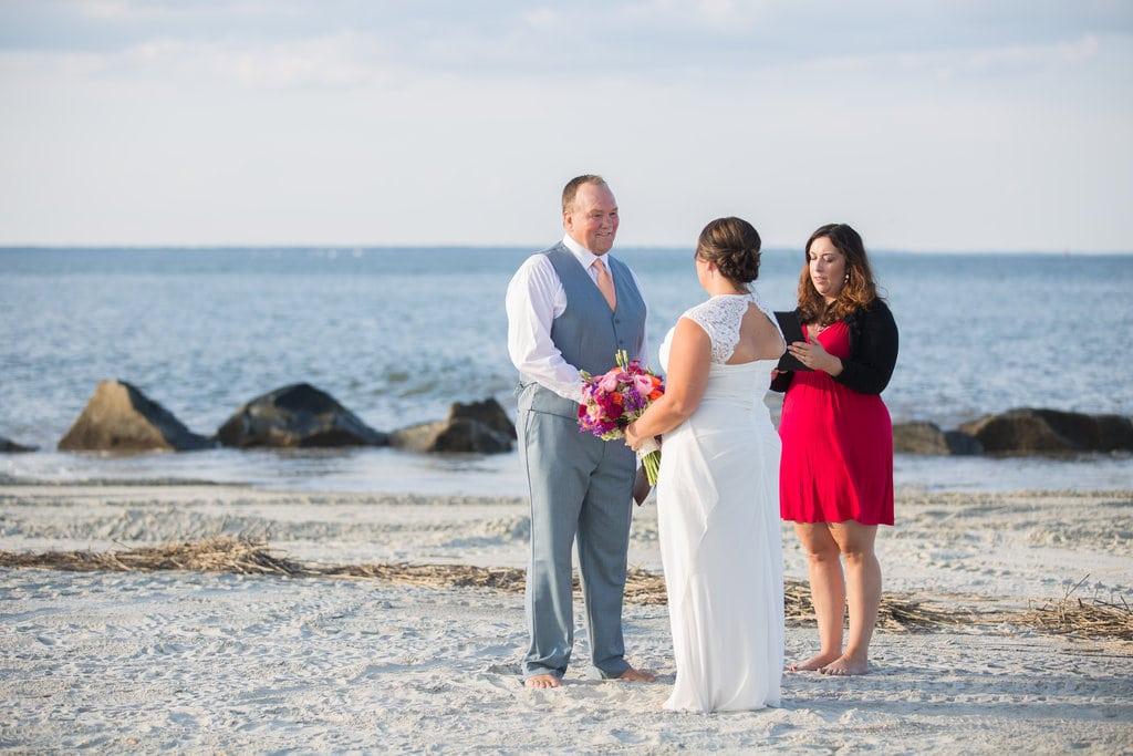 Tybee Island elopement