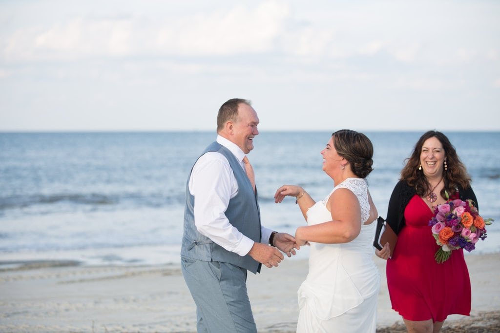 elopement in Tybee Island
