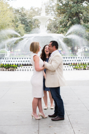 Forsyth Park Wedding, Spring 2017
