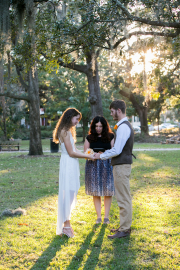 Forsyth Park Wedding, Fall 2016