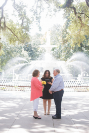 Forsyth Park Wedding, Fall 2015