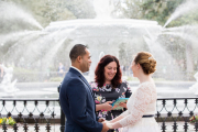 Forsyth Park Wedding, Winter 2018