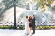 Forsyth Park Wedding, Winter 2016