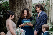 Private Home Wedding, Winter 2018