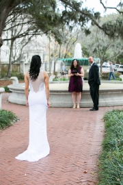 Orleans Square Wedding, Winter 2017