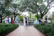 Orleans Square Wedding, Summer 2017