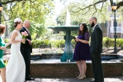 Columbia Square Wedding, Spring 2016