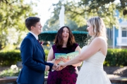 Columbia Square Wedding, Fall 2017