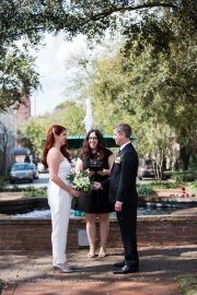 Columbia Square Wedding, Winter 2017