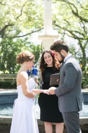 Johnson Square Wedding, Spring 2015