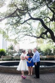 Johnson Square Wedding, Spring 2016