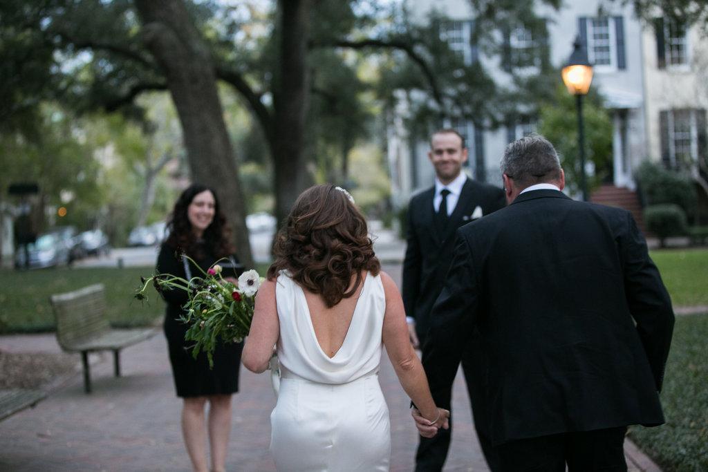 Pulaski Square Wedding, Fall 2016