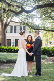 Pulaski Square Wedding, Fall 2015