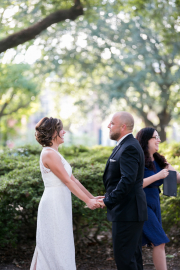 Pulaski Square Wedding, Fall 2016