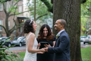Pulaski Square Wedding, Spring 2016