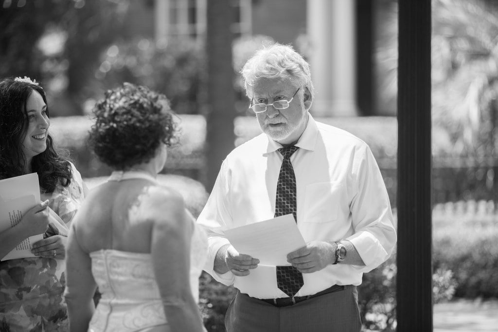 Monterey Square wedding in Savannah, GA