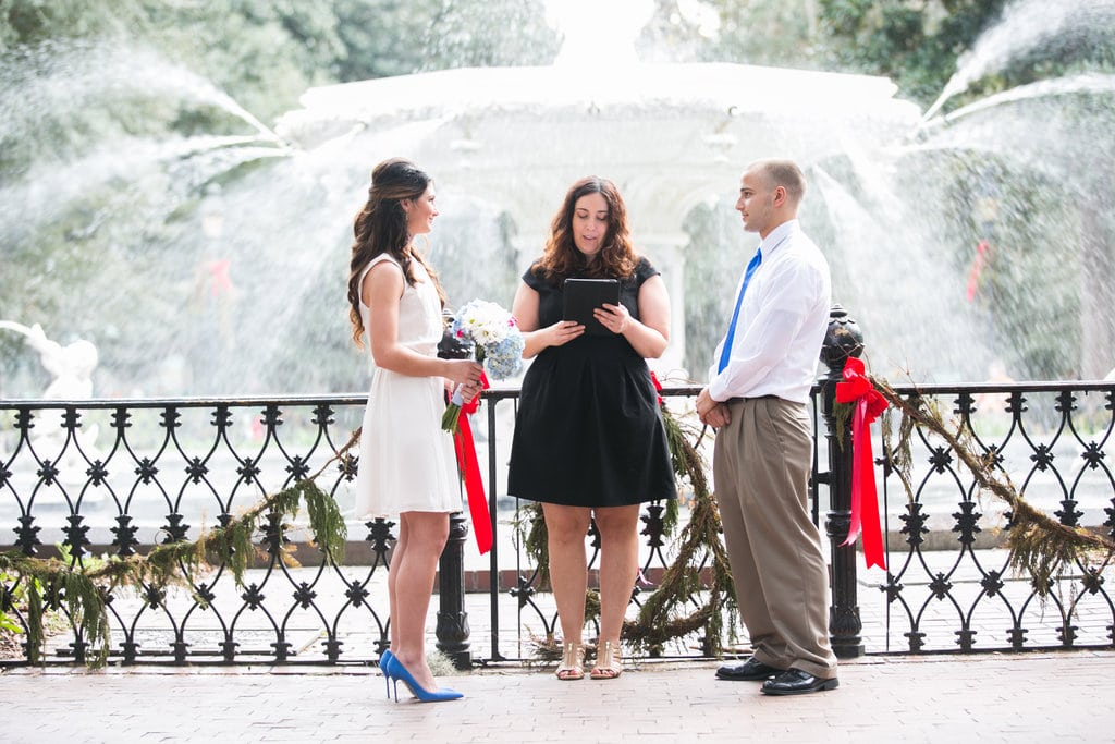 New Year's Elopement in Savannah, GA