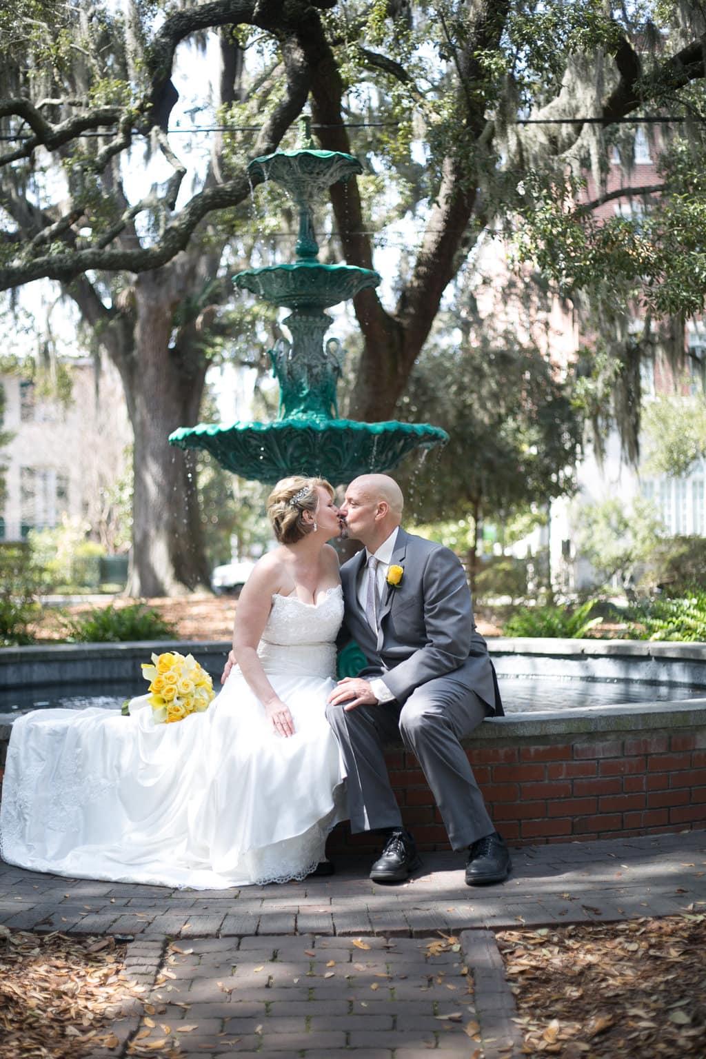 Lafayette Square Wedding, Savannah, GA