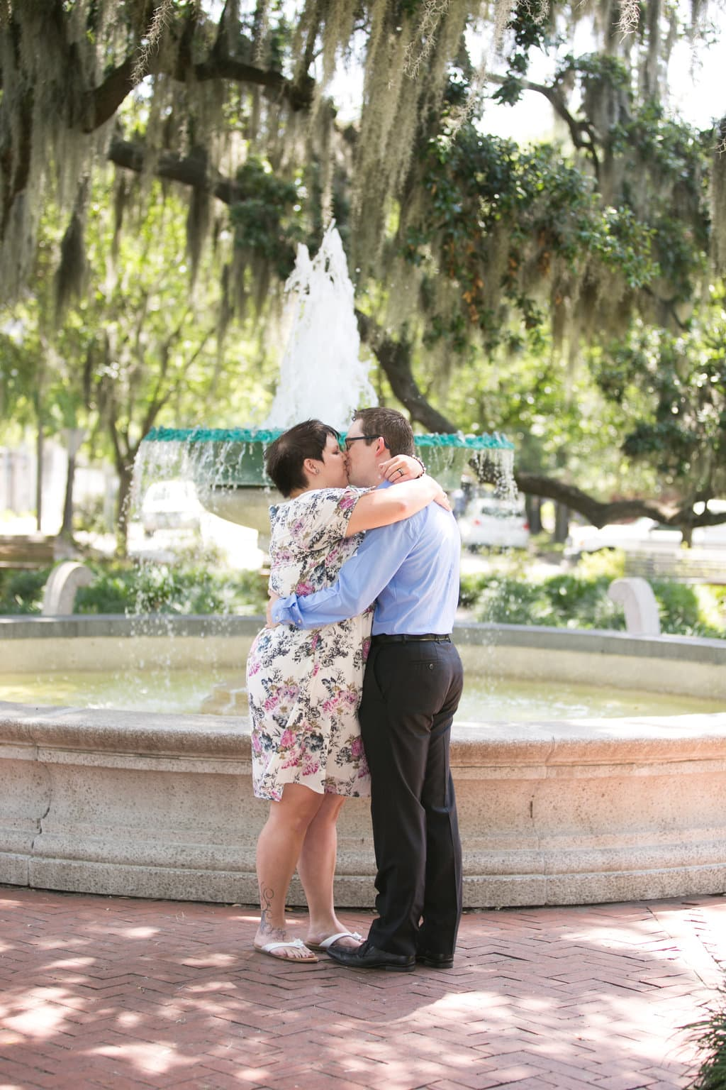 Savannah, GA Wedding in Orleans Sqquare