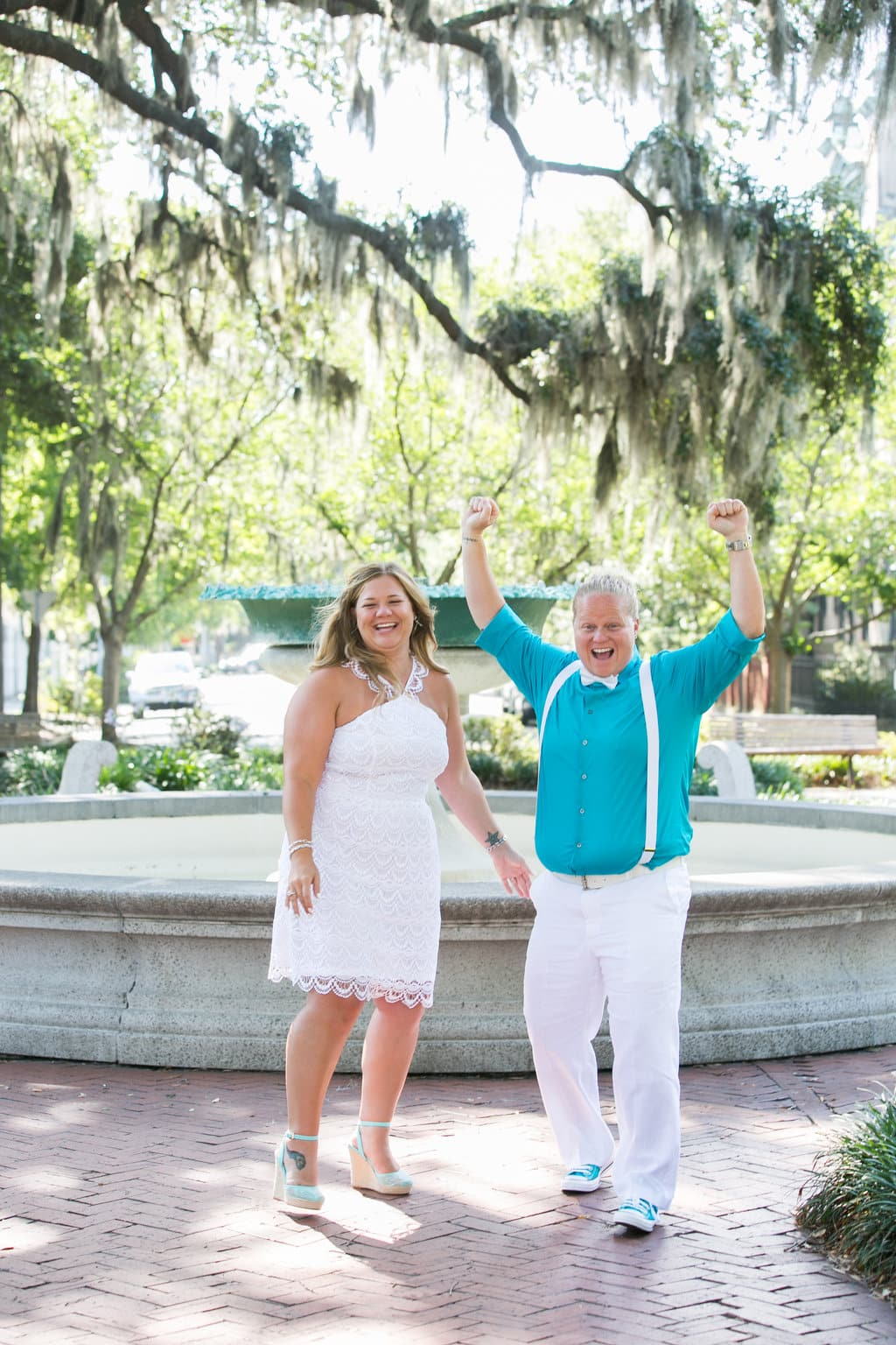 orleans square elopement, savannah