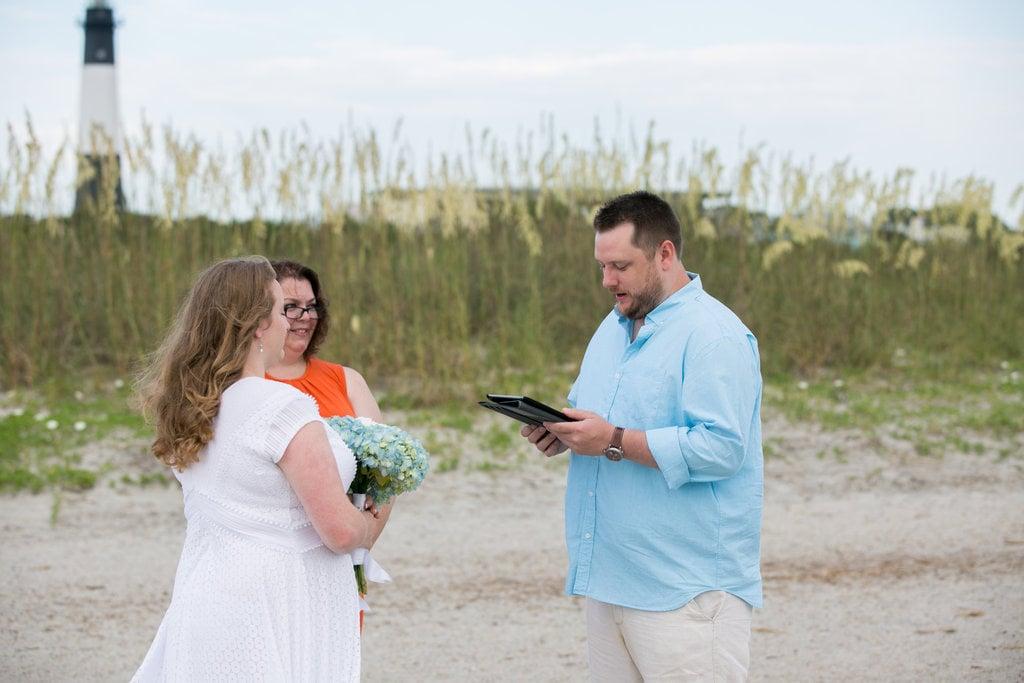 Tybee Island Wedding Vows