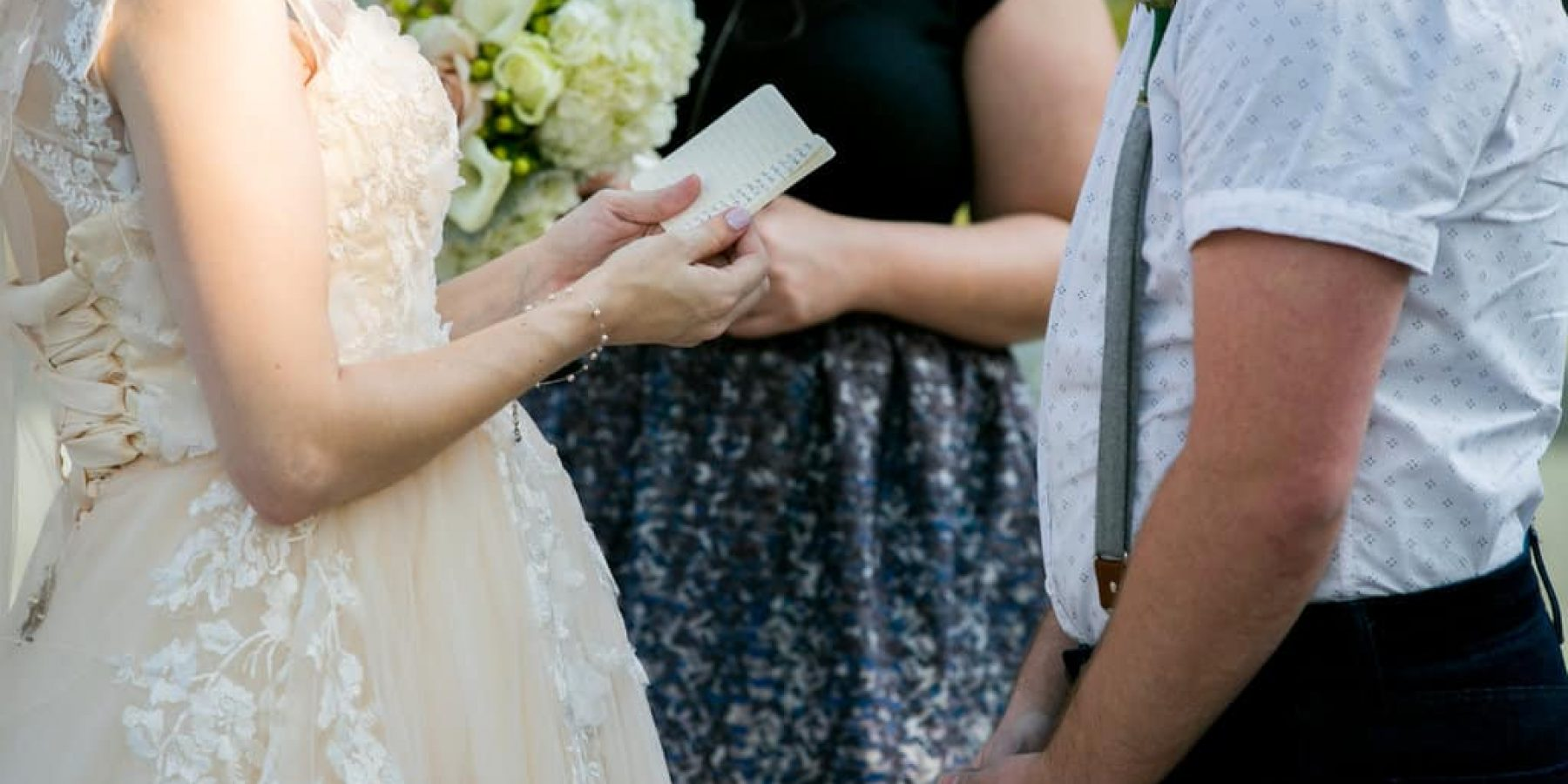 Three Planning Tips for Writing Your Wedding Vows