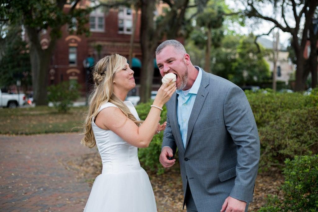 Wedding cucpakes