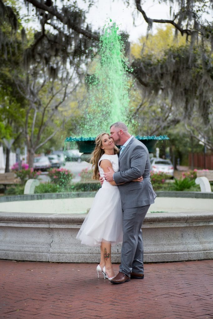 St Patrick's Day Elopement in Savannah