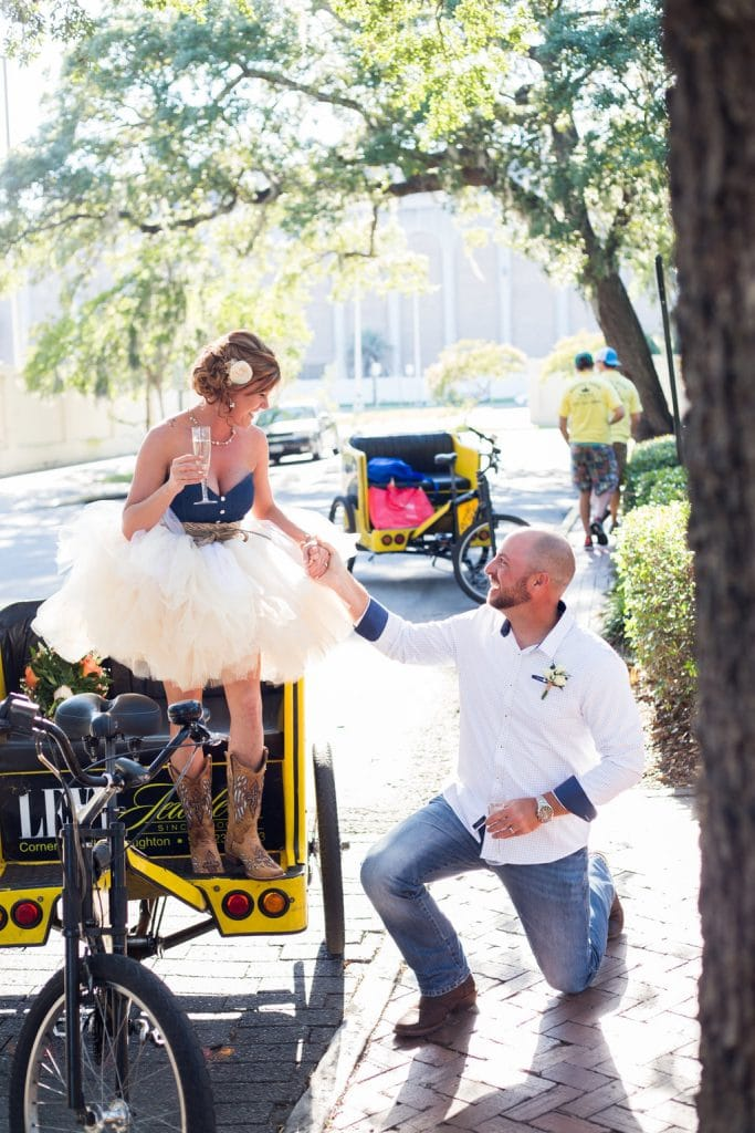 Southern elopement in savannah