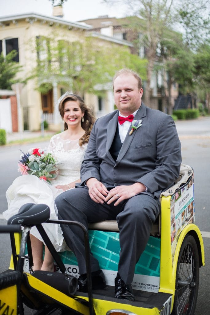 Pedicabs in Savannah