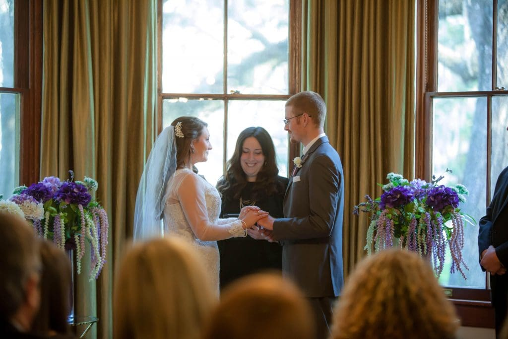 wedding ceremony at The Whitman