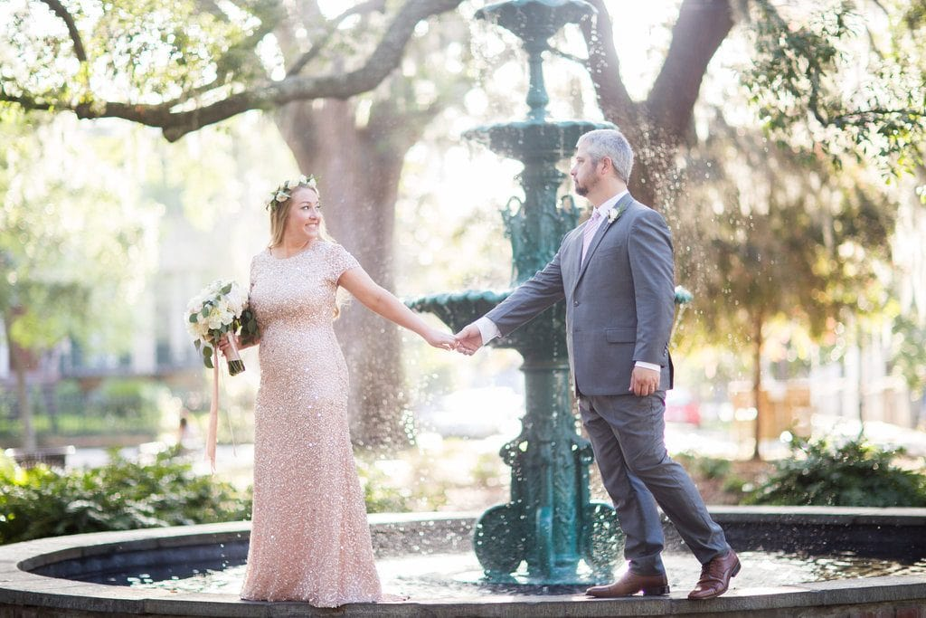 savannah lafayette square wedding