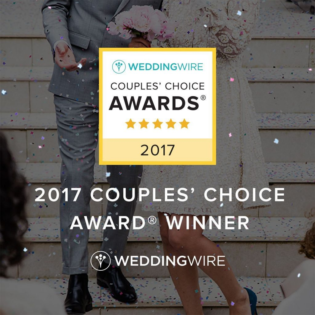 weddingwire couples' choice award savannah officiant