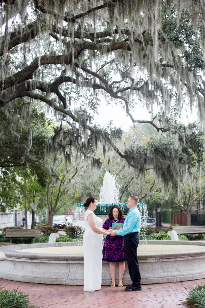 Orleans Square Savannah elopement