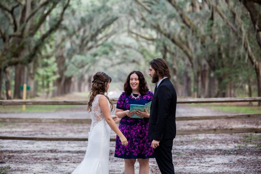 Wormsloe wedding