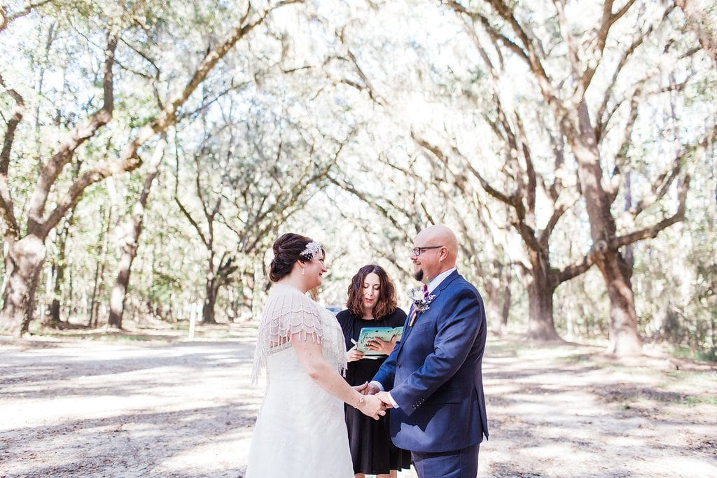 wormsloe elopement in Savannah