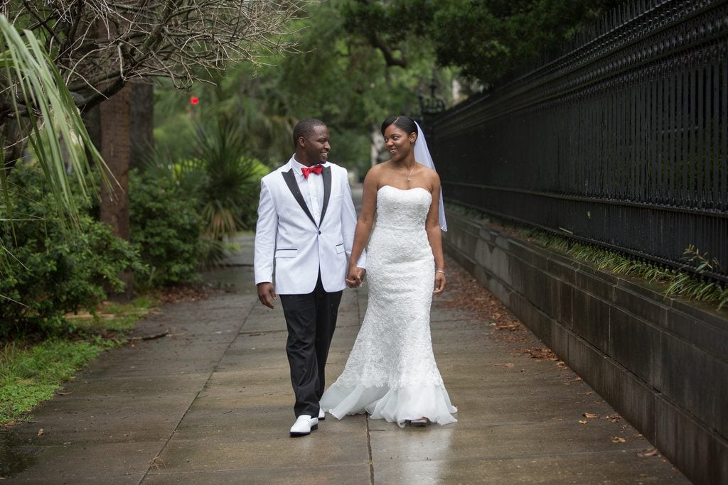 african american wedding in savannah