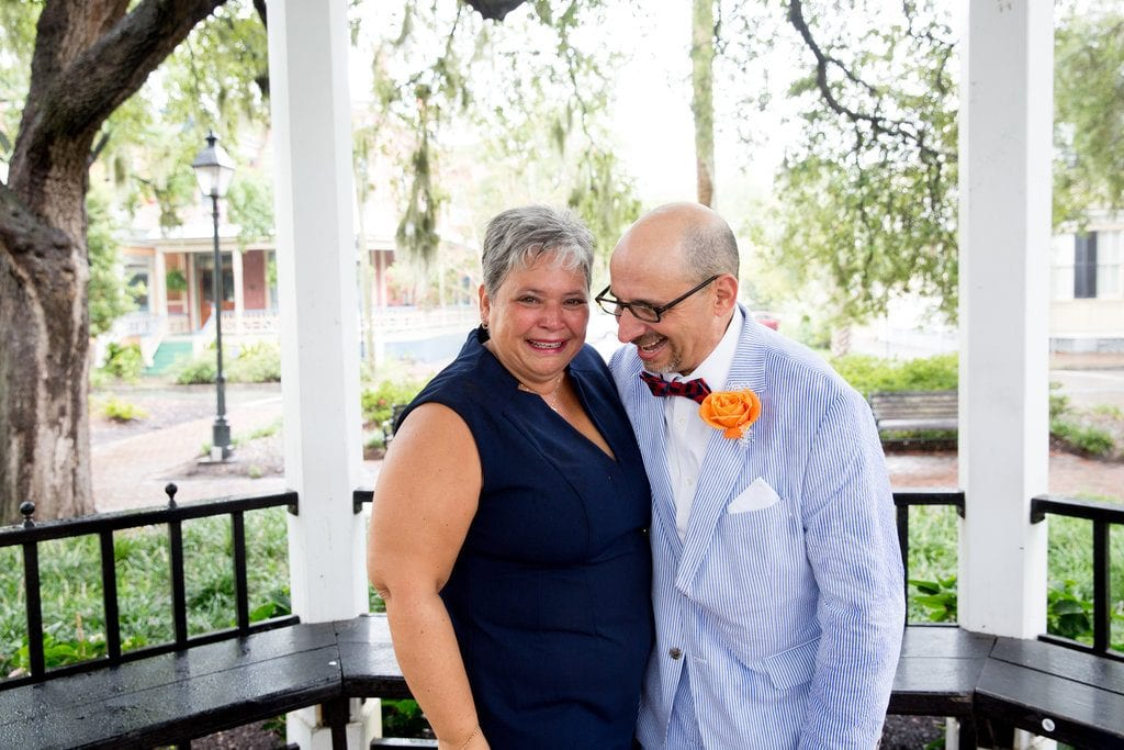 wedding in historic savannah